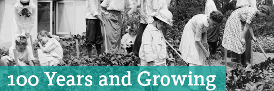 100 Years and Growing: A Century in the Children's Garden