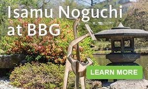 Isamu Noguchi at Brooklyn Botanic Garden