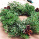 Holiday Wreath and Topiary Workshop