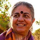 Dr. Vandana Shiva, founder of Navdanya