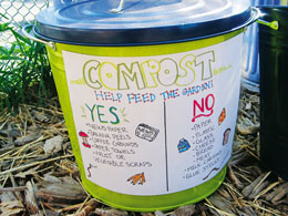 compost collection bucket