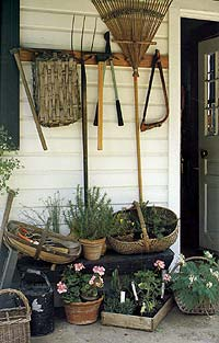 Equipment options for home gardeners are enormus. Look for tools that are versatile; they will last a lifetime.