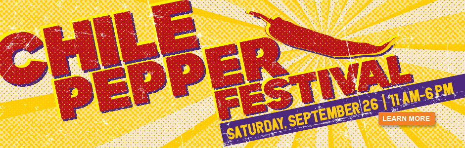 Chile Pepper Festival, Saturday, September 26, 2015