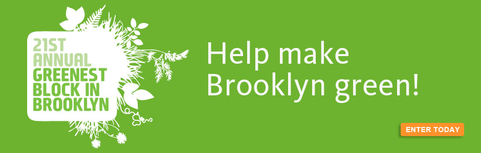 21st Greenest Block in Brooklyn. Help Make Brooklyn green! Enter today.