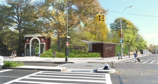 BBG Wins Mayor's Award for Excellence in Design for New Flatbush Avenue Entrance and Café