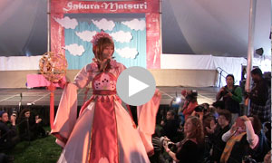 Video of 2014 Cosplay Fashion Show at Sakura Matsuri